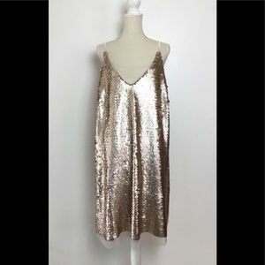 New Stunning Elvi Sequin Dress